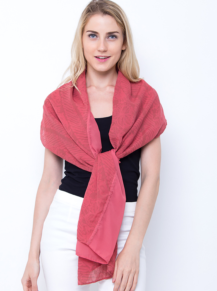 Scarf 2 Layer [Red]